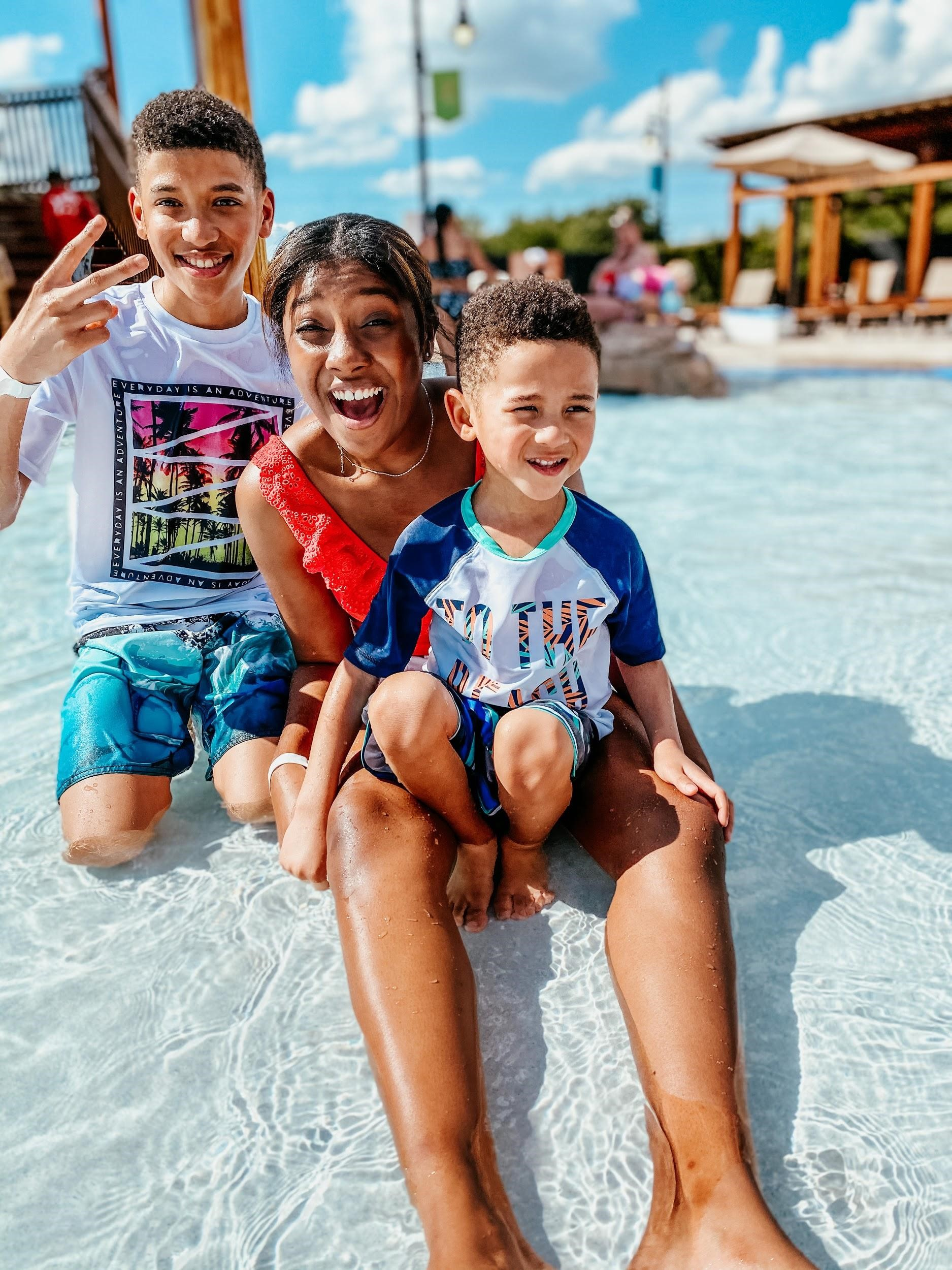 "Our family ""Day-Cation"" with Gaylord Texan"