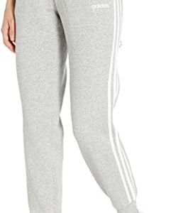 adidas Women's Essentials 3-Stripes Fleece Jogger Pants