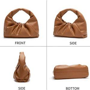 Women Top-Handle Bags Ladies Tote Handbag and Purses Large Capacity Hobo Bag with Magnetic Closure
