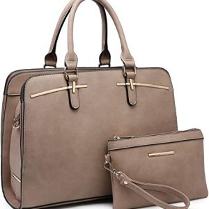 Dasein Women Satchel Handbags Shoulder Purses Totes Top Handle Work Bags
