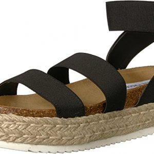 Steve Madden Women's Kimmie Espadrille Wedge Sandal