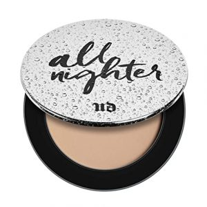 Urban Decay All Nighter Waterproof Setting Powder – Lightweight, Translucent Makeup Finishing Powder – Smooths Skin & Minimizes Shine – Lasts Up To 11 Hours